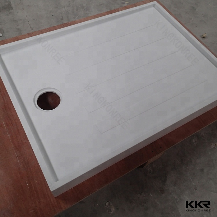 Hot Sale White Acrylic Shower Tray Matched Stone Shower Base - Buy ...