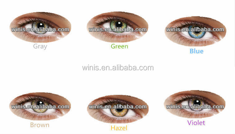 Naty B Gray Colored Contact Lenses From I-codi Korea Factory ...