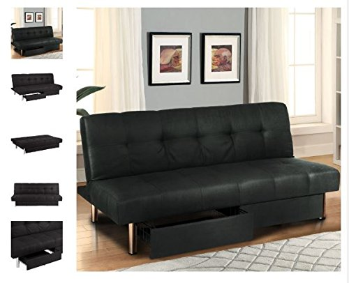 Get Quotations Quality Sofa Microfiber Futon Folding Bed Convertible Couch Torage Recliner