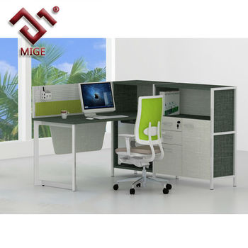 modern office partition. Black And White Modern Office Partition Manager Workstation