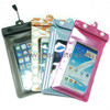 Wholesale pvc clear bag with zipper for iphone5
