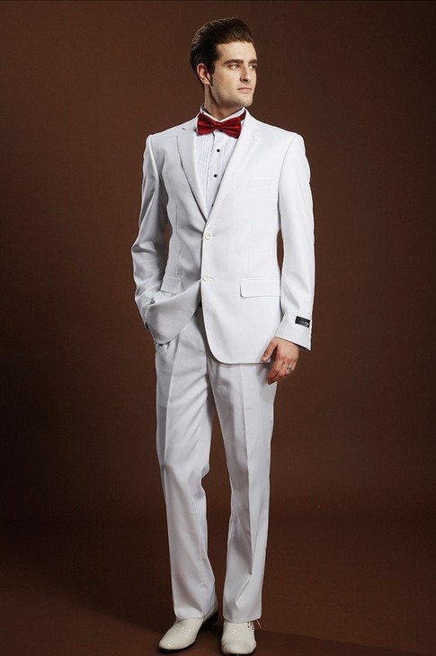 Latest White Pant Coat Design Men Wedding Suits Pictures - Buy ...