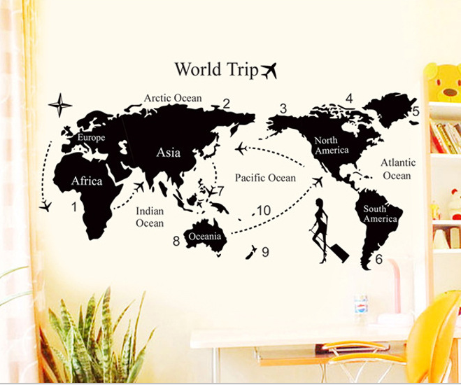 New cartoon world map puzzle creative magnetic learning educational new cartoon world map puzzle creative magnetic learning educational toys map wallpaper large world map sticker gumiabroncs Images