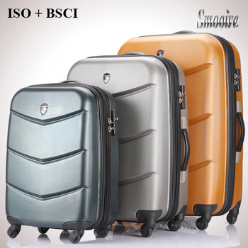 Unique Decent Eminent Large 100% Pc Trolley Travel Suitcases - Buy ...
