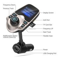 Aux usb handfree bluetooth v3.0 stereo wireless bluetooth car kit mp3 player with Bluetooth usb charger