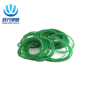 Industry green wide rubber band