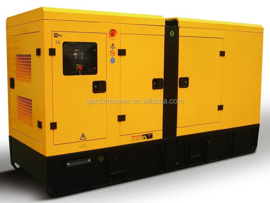 Factory AC Power Engine Silent Diesel Generator 170 kva With Cummins Engine