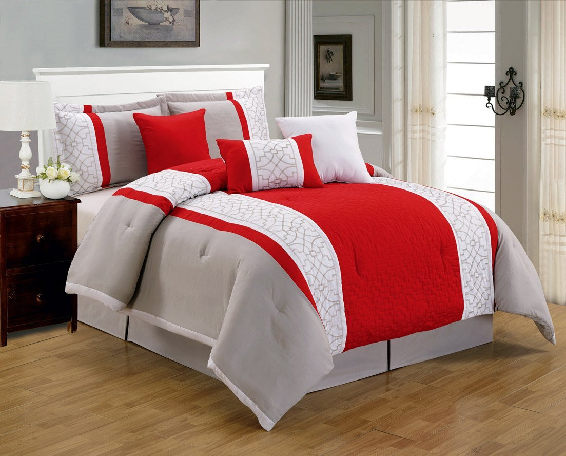 bedding bedspread bedroom size comforter sizered luxury design king magnificent sets full kids red pictures