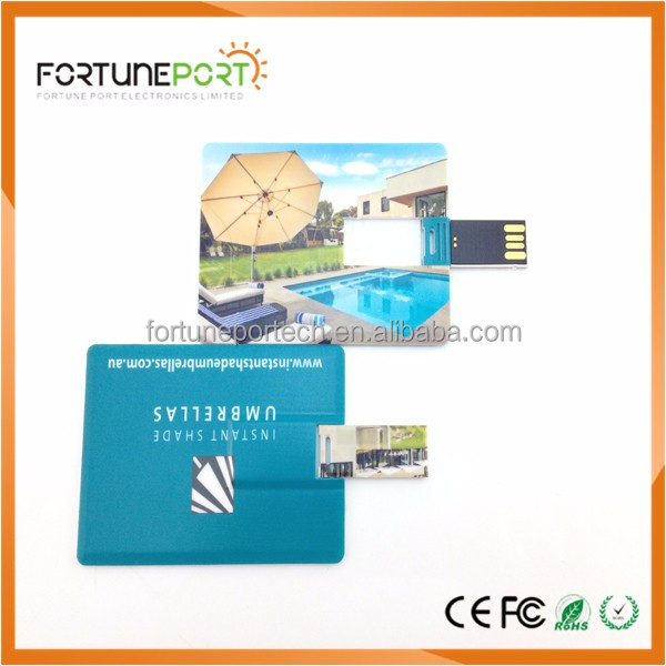 Double Sided Printing Custom Card Usb Key Cheap Price Free Logo USB Flash Drive Disk