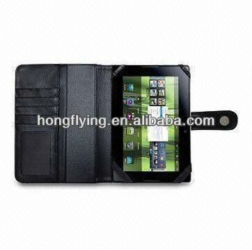 PU Leather Tablet PC Case for BlackBerry PlayBook, Various Colors are Available