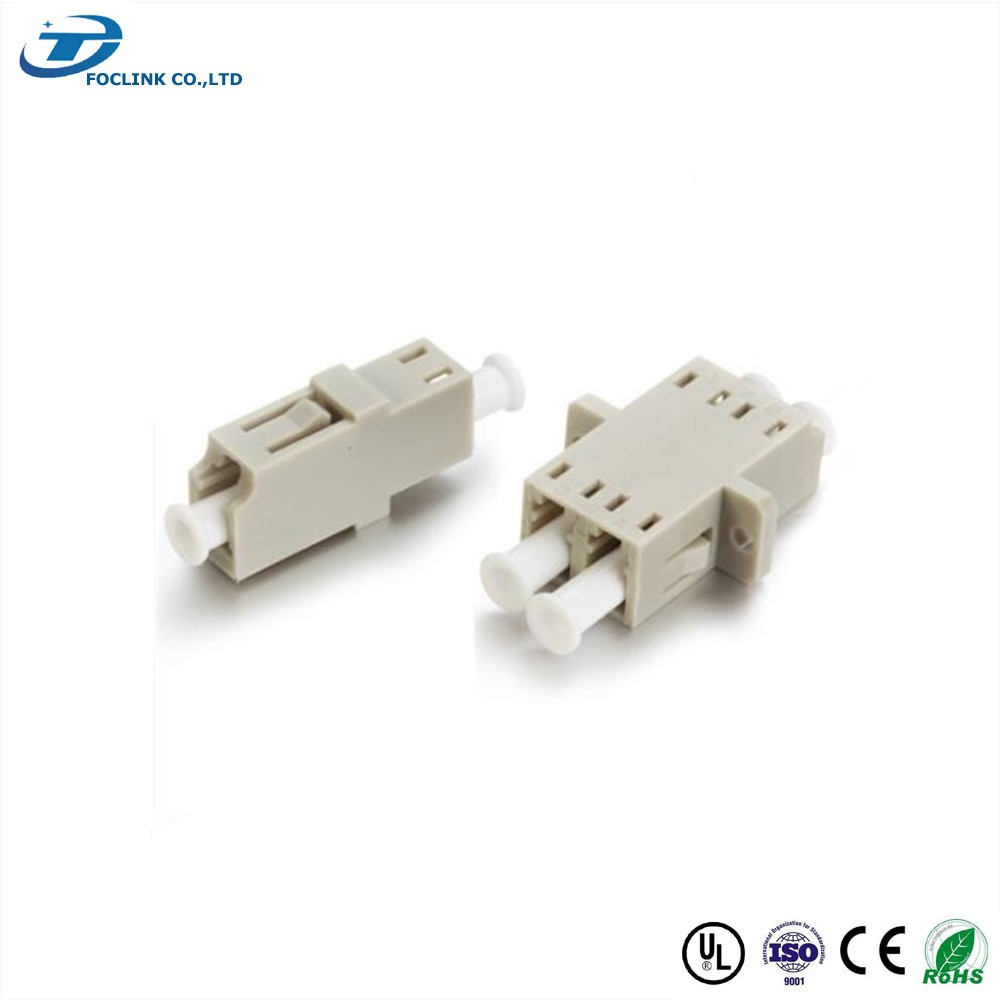 LC multi Mode Duplex Coupler without flange for telecommunication solution