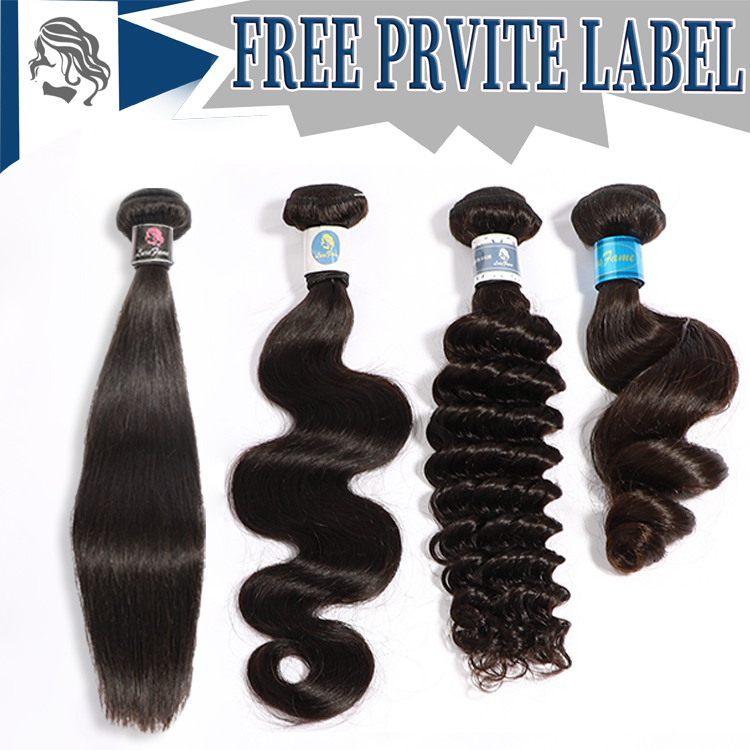 Free Sample Free Desgin Your Label,Human Extension Private Pink/Bule Label Hair Packaging,Private Label Black Hair Products