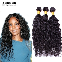 Hot Selling Woman Hair Products 100% Water Wave Virgin Indian Hair