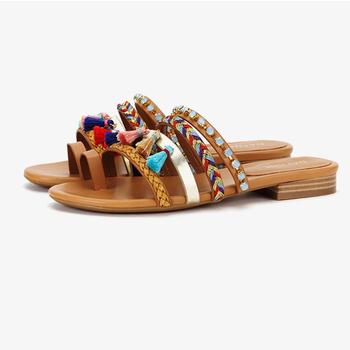 2019 latest slippers ladies fashion