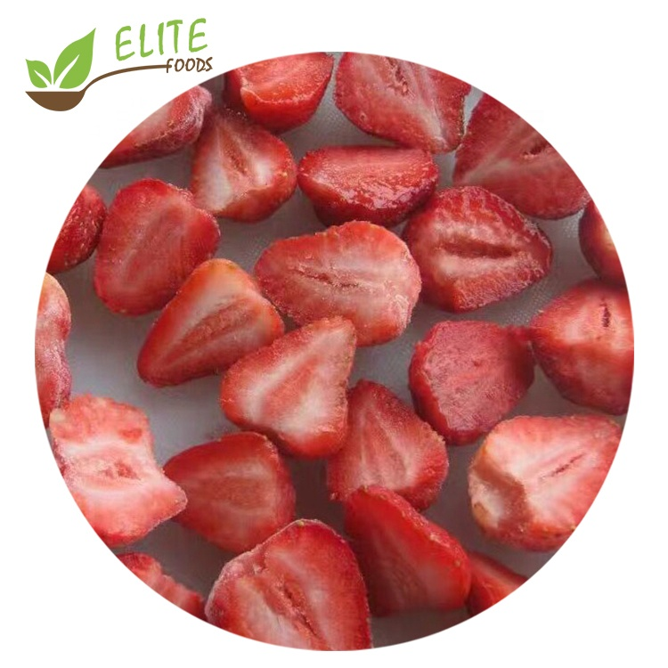 2020 New Wholesale Iqf Frozen <strong>Strawberry</strong> Slices