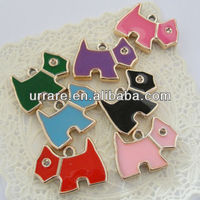 Wholesale Cheap Lucite Puppy Dog Necklace Accessories