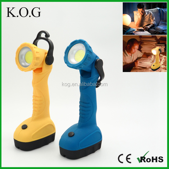 Utility Adjusting Rotatable COB Desk Lamp with Hook