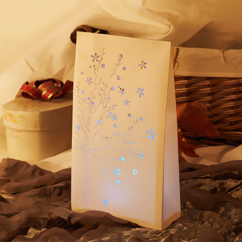 Paper Luminary Bags Are Used To Light Up Isle Ways For Weddings Parties Or Ceremonies Luminaries Create A Beautiful Pathway In Dark Areas And