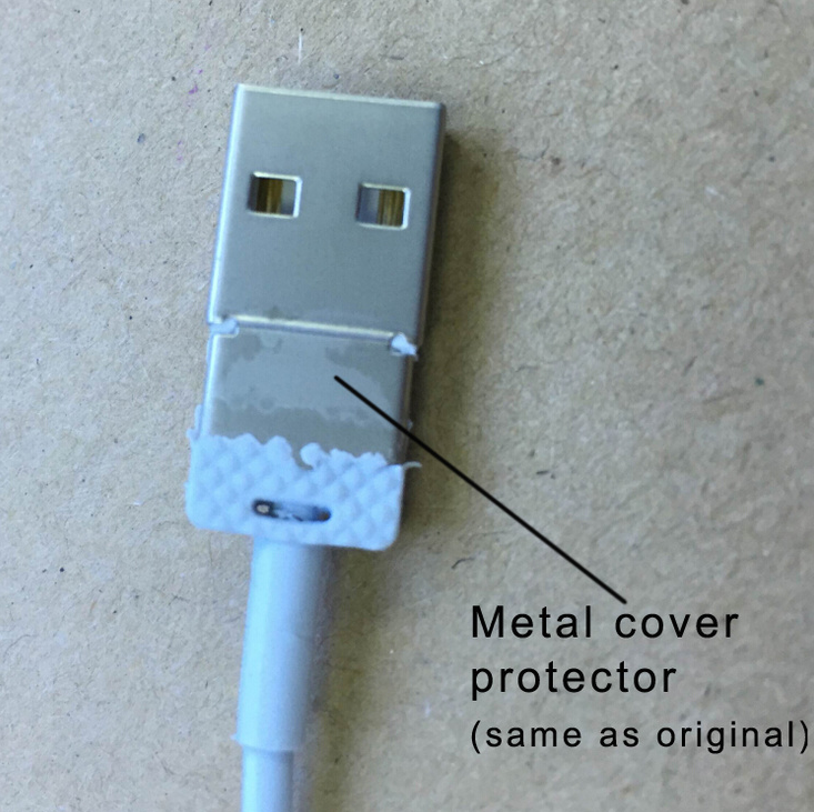 For Iphone 7 Usb Cable Od 3.0 Aluminium Head Fabric Cable For Iphone ...
