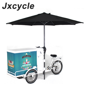 electric three wheel ice cream tricycle