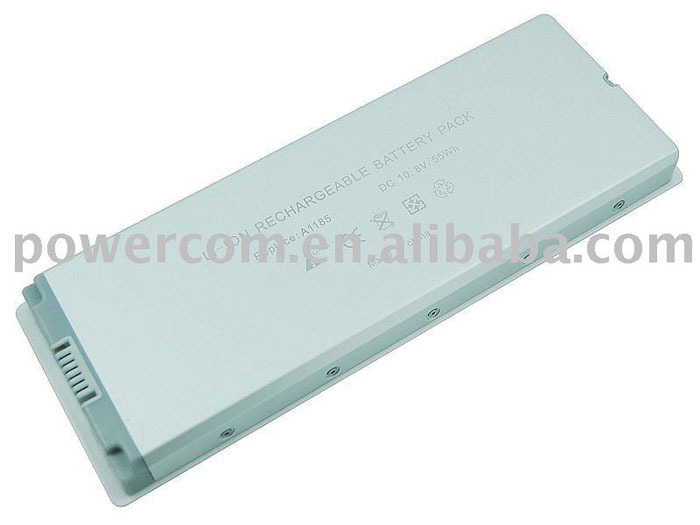 10.8v replacement laptop battery backup computer battery Apple Macbook laptop battery A1185
