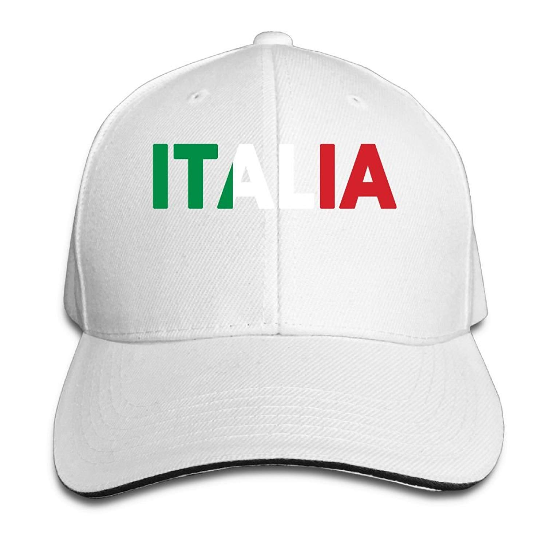 c5d73618 Get Quotations · Italia Italy Italian Flag Classic 100% Cotton Hat Caps  Unisex Fashion Baseball Cap Adjustable Hip