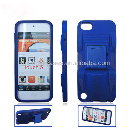 Newest design top quality sports car clip flip hard case for ipod touch 5 5th