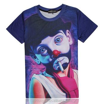 3d impresso t camisa dos homens ao ar livre ab fumar palhaço impresso  respirável camisas de 99c600a0e4a9c
