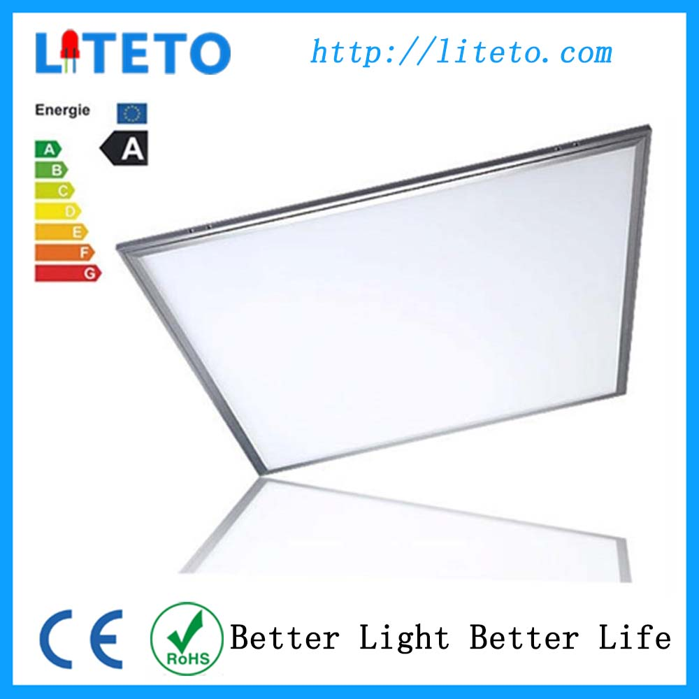 led lamparas top quality nature white smd2835 600x600 36w led panel light aluminium surface mounted frame