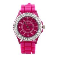 fashion Silicone quartz watch women Jelly Sport wristwatch,Woman dress brand watches,11colors casual women watch