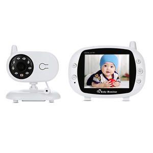 3.5 Inch Wireless TFT LCD Video SP850 Baby Monitor Night Vision 2-way Audio Infant Baby Camera Digital Video Monitor
