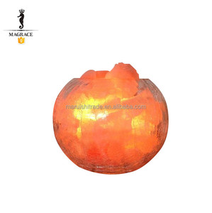 Simple Creative Deep Blue Sea Himalaya Salt Lamp Home Decorative Night Light
