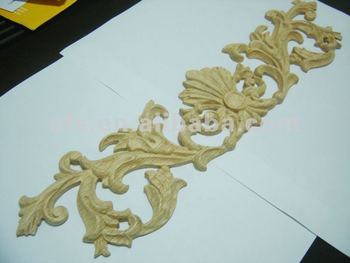 Ornamental wood onlays appliques with new design efs a on20 buy