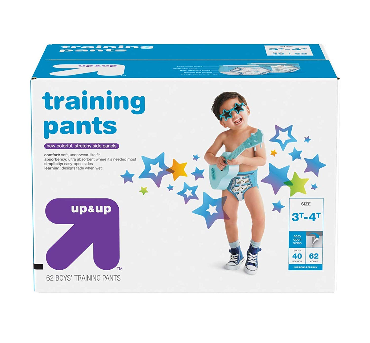987168ca92cfd1 Get Quotations · Up&Up Youth Pant Nighttime Underwear Toddler Kids Boys  Training Pants, Giga Pack
