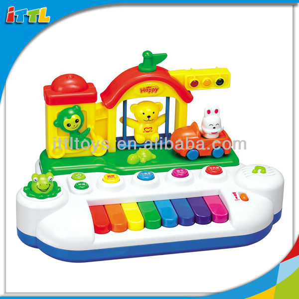 A164758 Electronic Piano Toys Plastic Musical Baby Toy Piano