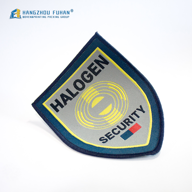 Custom High Quality Woven Patches Woven Badge for Clothing