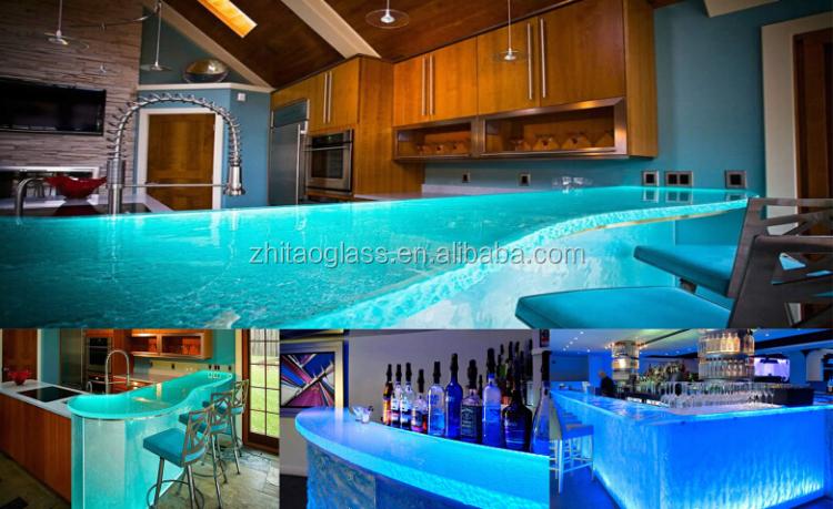 Modern Commercial Nightclub Bar Countertops / Bar Top