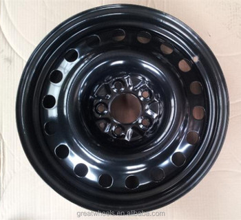 High Quality Painted Black 17 Wheel Rim For Passenger Van