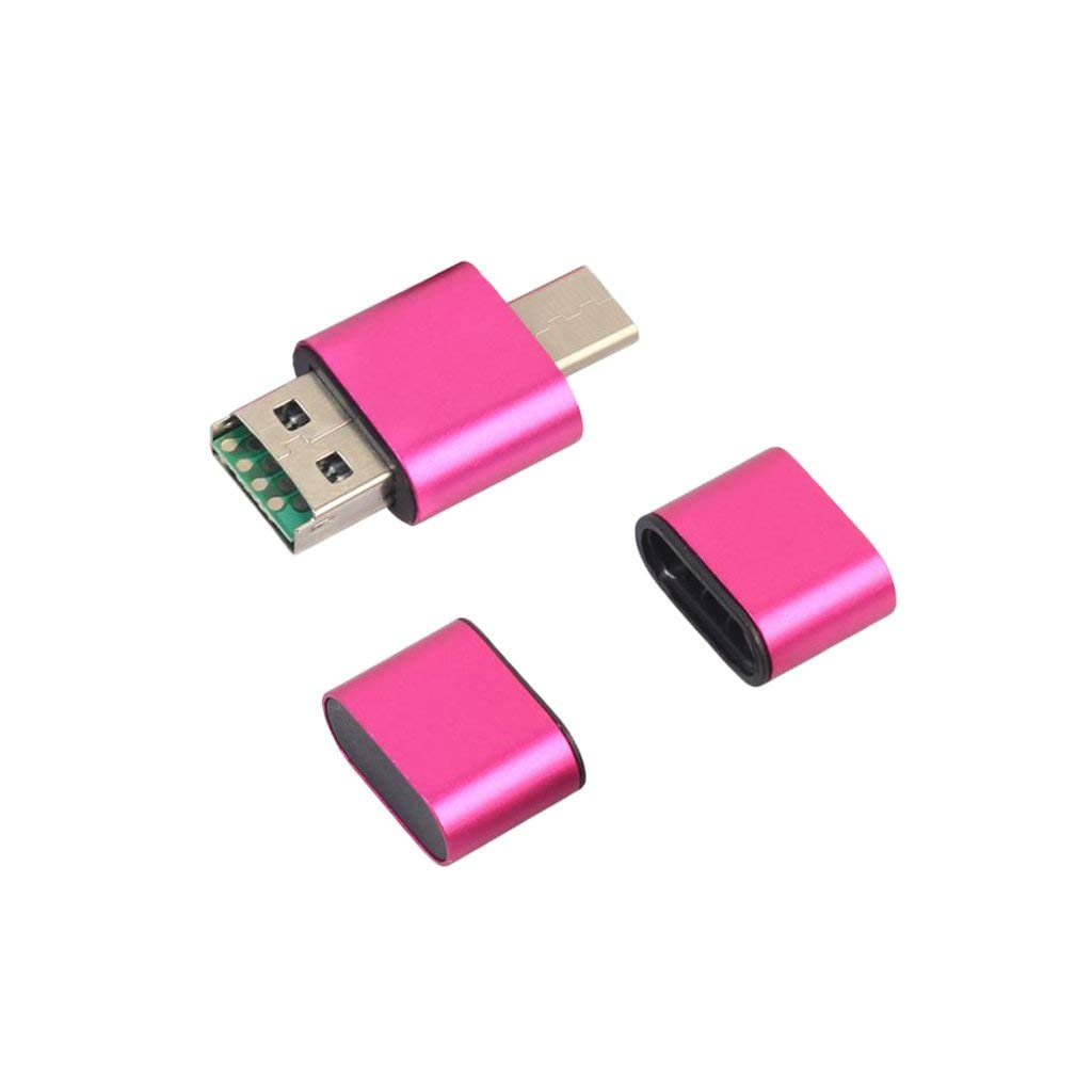 MagiDeal Portable USB Type C OTG TF-Card Memory Card Reader Adapter for PC/Mobile #5