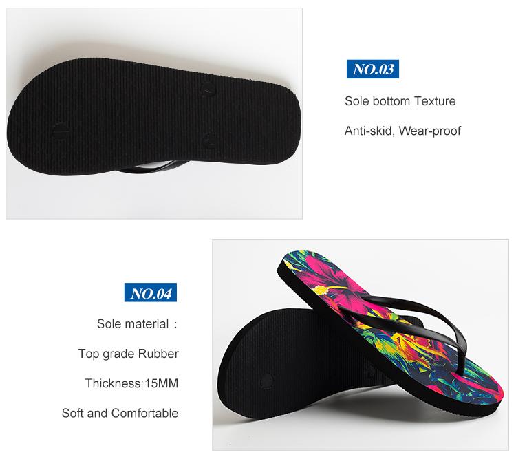 5bca8de16 Custom Fancy Ladies Flip Flops Plastic Strap Slippers Women - Buy ...