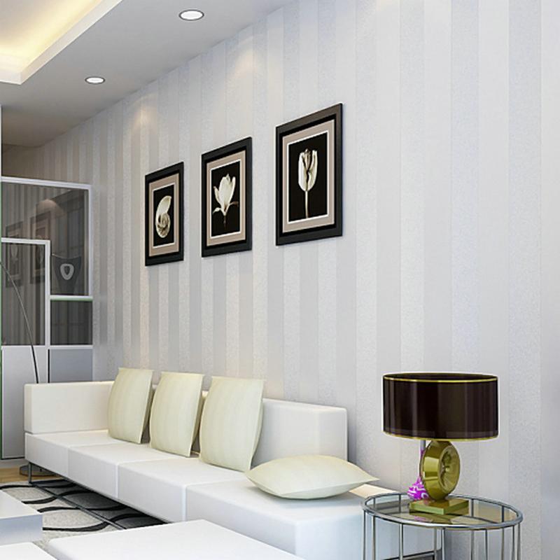 comprar de la alta calidad d rayas verticales del papel pintado para paredes dormitorio saln tv fondo blanco beige rosa de caf de