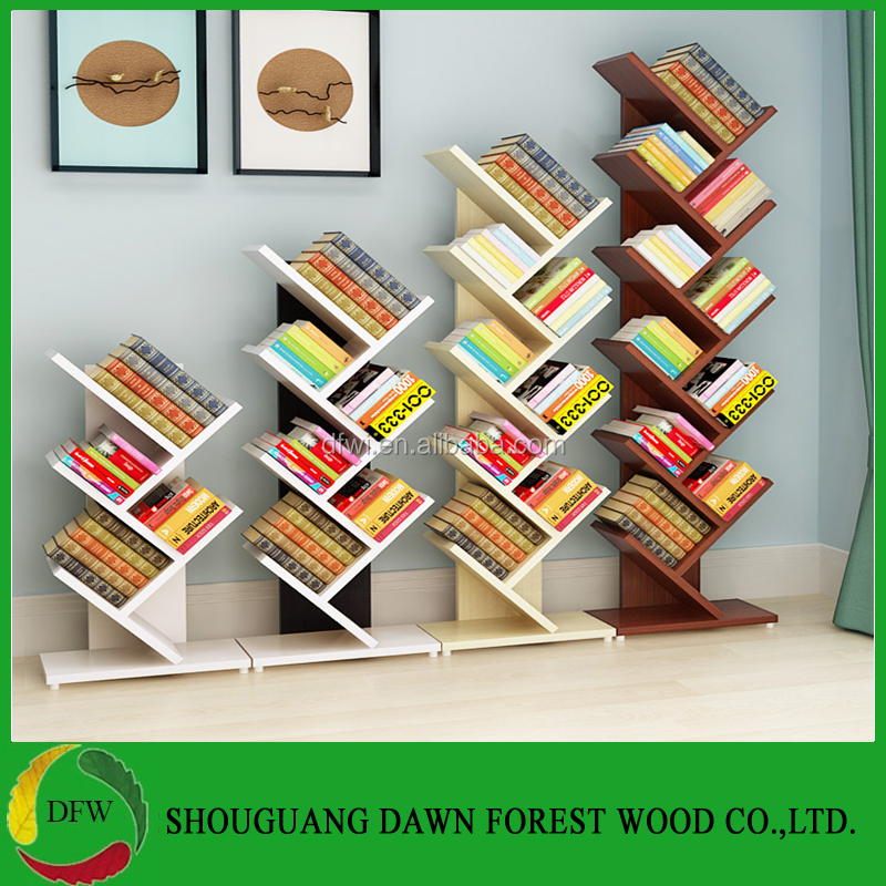 Manufacturer Customized Tree Shape Bookcase/Bookshelf