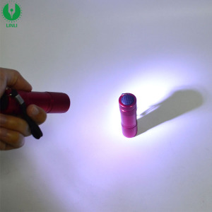 Shenzhen Factory Low Price Promotion Metal Mini AAA LED Torch Blaze Flashlight