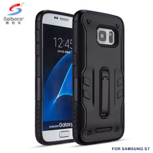 Metal kickstand for samsung s7 case ,tpu pc hybrid for samsung s7 phone case, for samsung galaxy s7 cases and covers