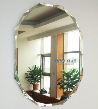 Cheap decorative beveled wall mirrors buy decorative for Cheap designer mirrors