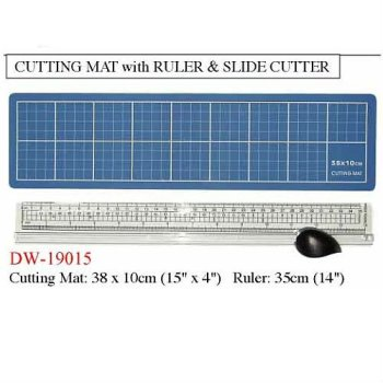Cutting Mat With Ruler & Slider Cutter