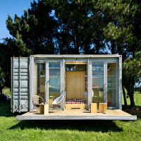 Fireproof Prefab Container Cabins For Sweden
