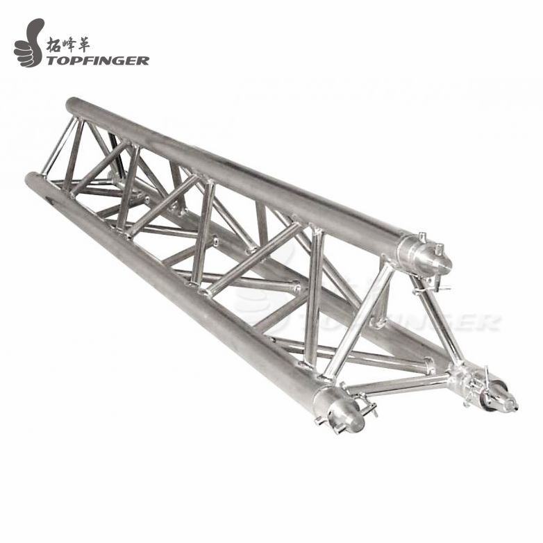 Topfinger factory used directly 300 x 300 mm aluminum triangle truss