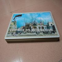 2015 custom metal tin boxes for picture packing