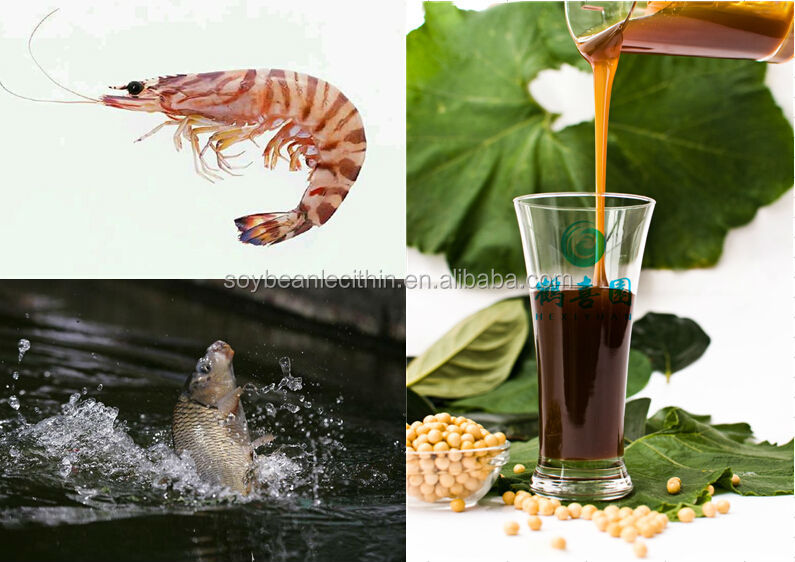 factory offer soyabean lecithin for marine lives